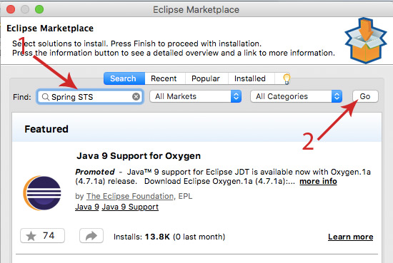 how to make application with eclipse