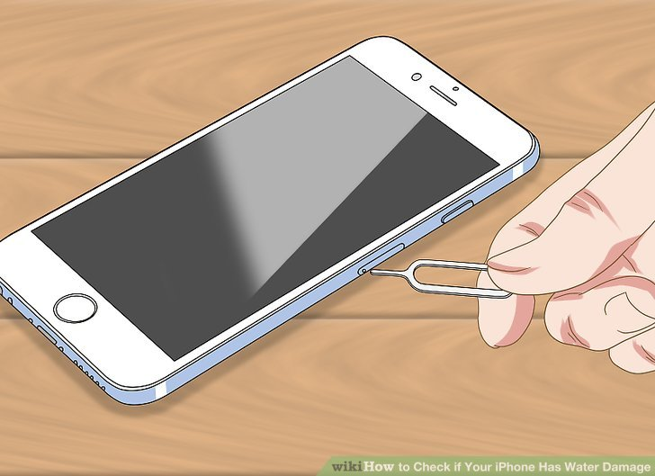 water damage iphone sonic application