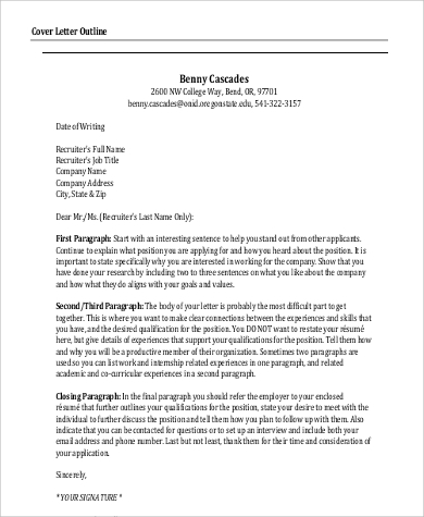 closing paragraph cover letter job application