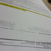 well contractor licence renewal application