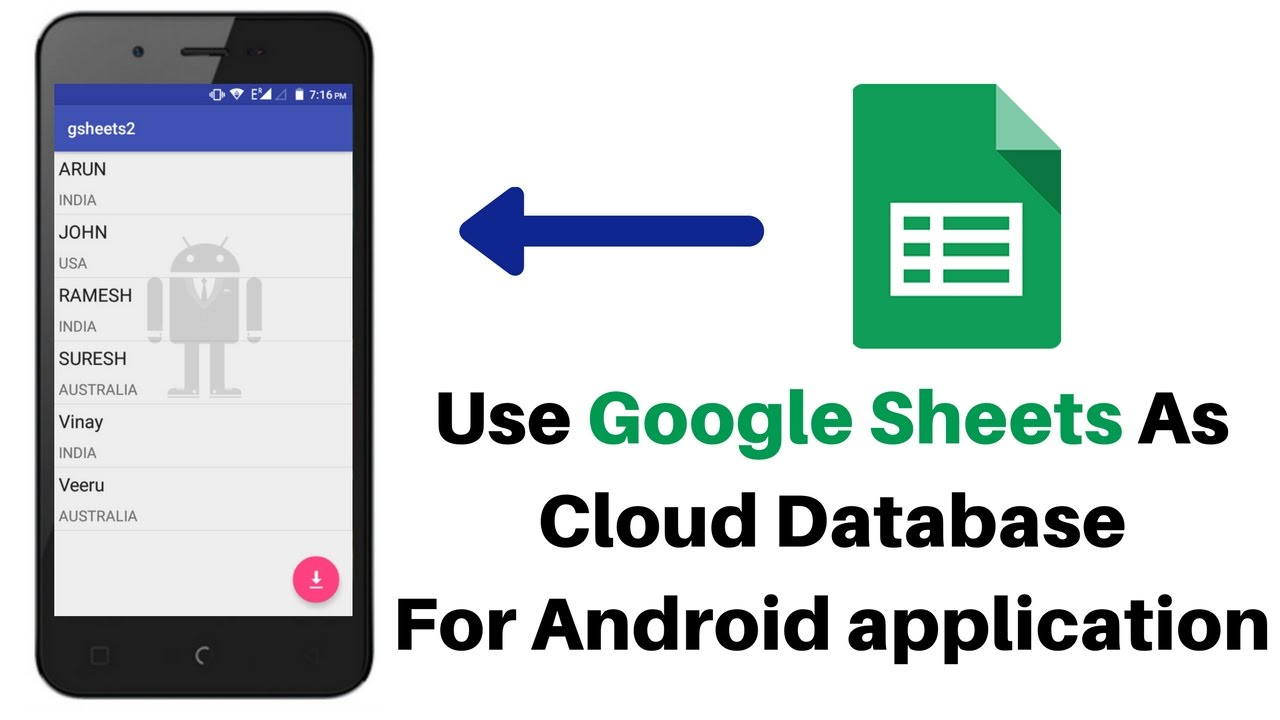 application excel pour android 2.2