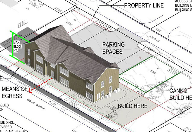 new single family house permit application