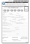 canadian passport application first time