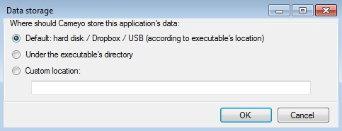 could not write application to hard disk