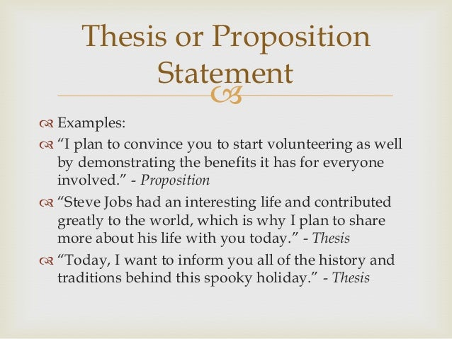 example of proposition and application of a sermon outline