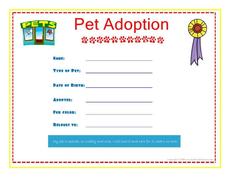 how to fill out perfect pet adoption application