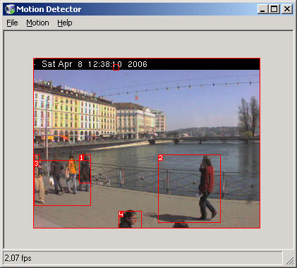 object recognition application open source